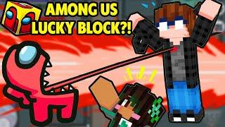 MEGA SUS AMONG US Lucky Blocks fra Dark web! - Minecraft Lucky Block