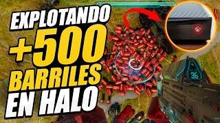 Qué pasa si EXPLOTAS +500 EXPLOSIVOS en HALO 5 (Casi muere mi XBox)