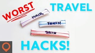 7 WORST Travel Hacks Unveiled!