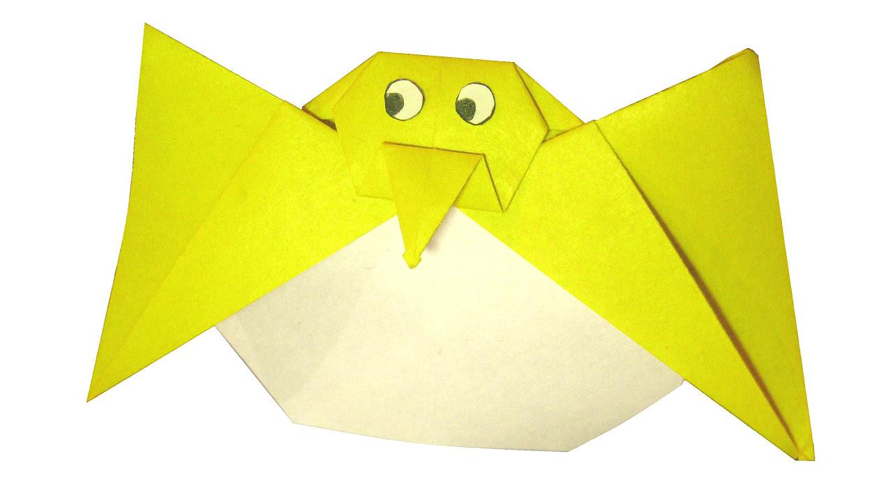 голуби с оригами схема
