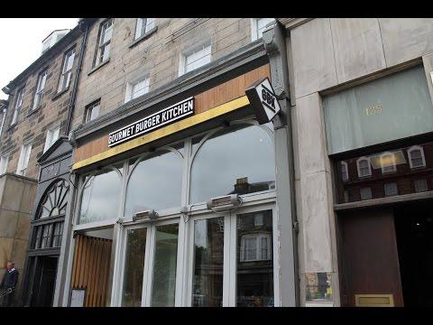 Lunch at GBK (Gourmet Burger Kitchen) - George Street, Edinburgh, Scotland