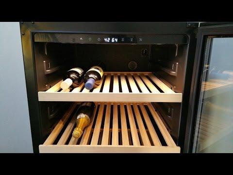 Cantinetta vino - Klarstein Botella 120S Electronic-Star - YouTube