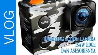UNBOXING ACTION CAMERA ISAW EDGE DAN ASESORISNYA #028