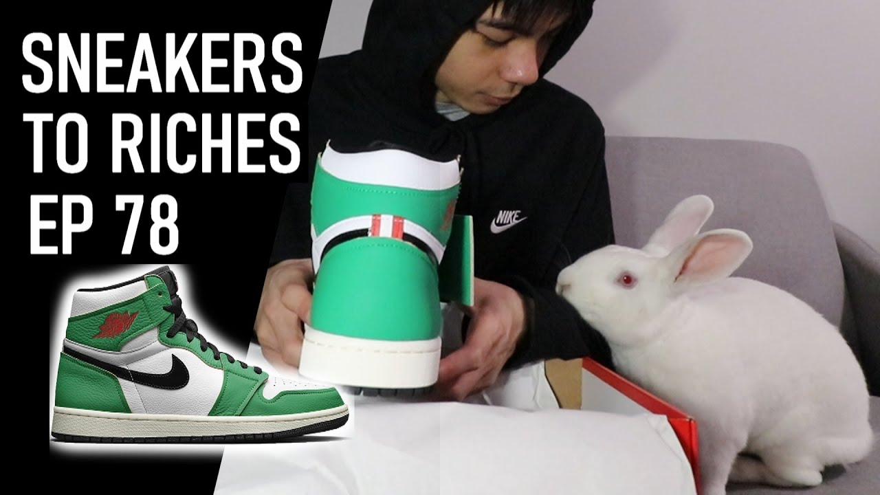 Nike Air Jordan 1 Lucky Green LIVE COP - Sneakers To Riches Ep 78
