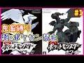 【鬼畜縛り】超・ポケモンセンター禁止マラソン~イッシュ編~#1【ブラック・ホワイト】