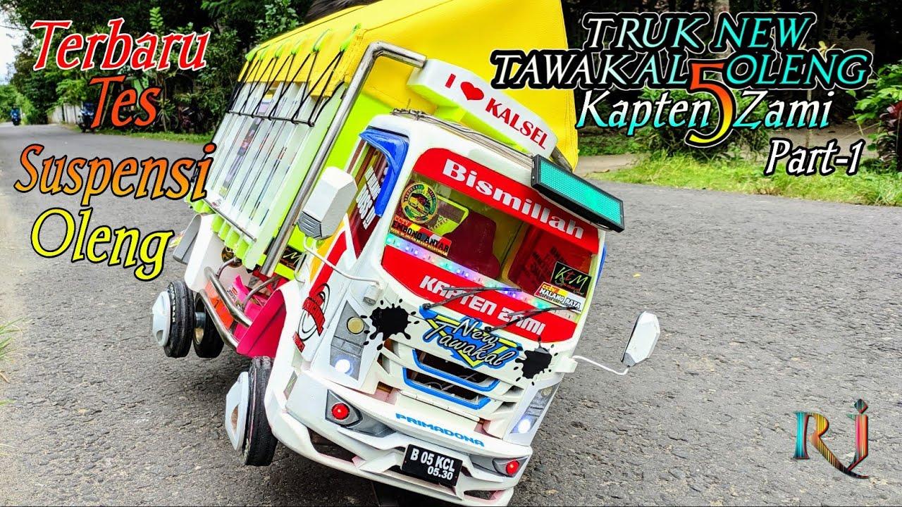 Terbaru Truk Miniatur Oleng Tawakal 5 kapten Zami |Miniatur Truk Oleng Terbaru