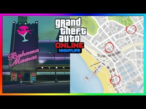 GTA Online ALL NightclubClub Locations To Buy & Own In The NEW GTA Online Nightlife DLC Update!