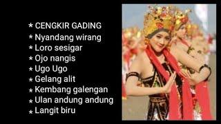 "Download Kendang Kempul BANYUWANGI "" CENGKIR GADING""  VOL :1"