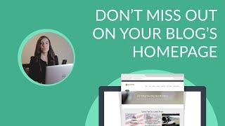 Know more about How to create a blog home page   Easy Video tutorial to learn How to create a blog home page