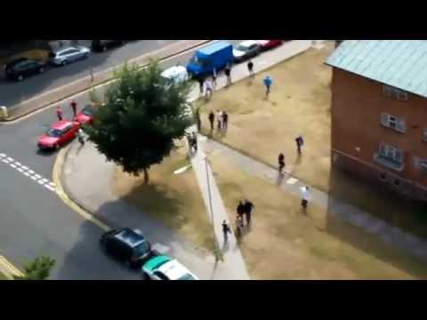 Football Hooligans - Brighton v Spurs - 2010