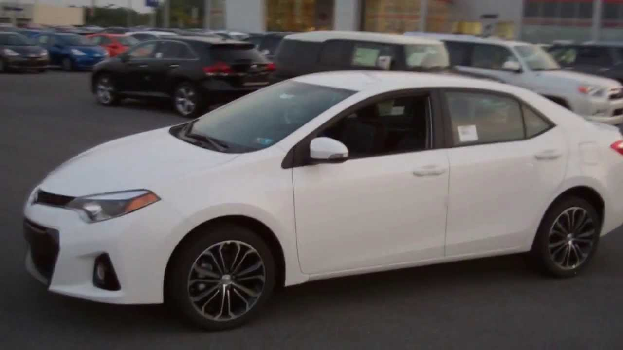 2014 Toyota Corolla Review Walkaround And Features