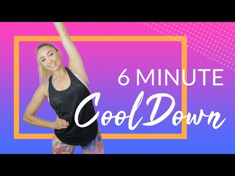 6 Minute Post Workout Cool Down & Stretch |