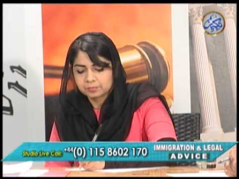Immigration & Legal Advice Show 22102012 1/2