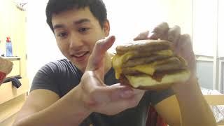 McDonald's Triple Breakfast Stacks Taste Test/Review: In My Dorm Room