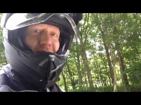 Steel Horseman rides dual sport!