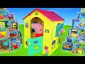 Peppa Pig Unboxing  Playhouse w  Kitchen  Toy Vehicles   Surprise Play Toys for Kids MP3