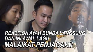 """Download Mp3 The Onsu Family - Reaction Ayah Bunda Langsung Dan Ini Awal Lagu """"malaikat Penja"""