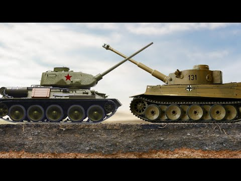 Battaglia Di Kursk: Von Manstein Contro Vatutin. Documentario.