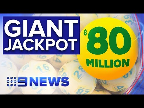 Oz Lotto's $80 Million Prize Up For Grabs   Nine News Australia