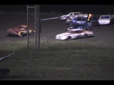 2005-2006 Paris Motor Speedway - IMCA Stock car racing - Highlights 2