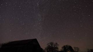 Milky Way Time Lapse - 4K Resolution
