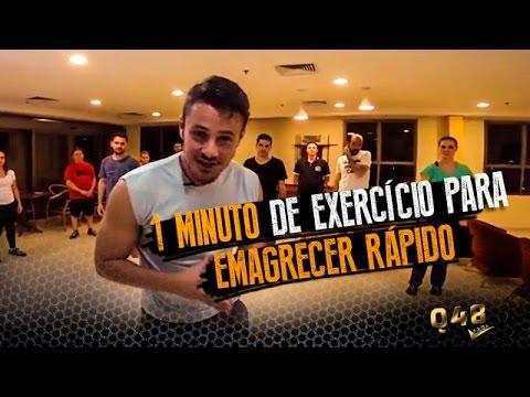 1 minuto de exercício para emagrecer rápido | Vinícius Possebon
