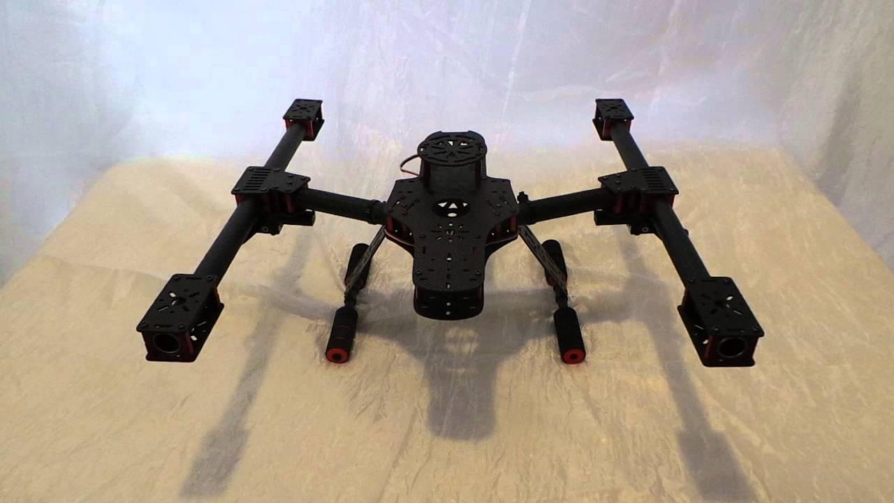 Da500 Little Inspire Carbon Fiber 500mm Fpv Frame