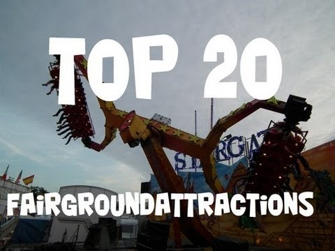TOP 20 Fairgroundattractions Europe (selected by Xtremerides