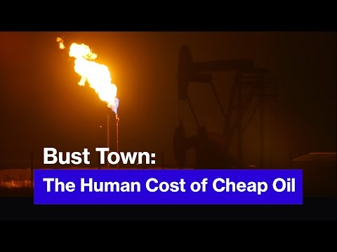How the Price of Oil Can Make or Break Entire Towns