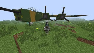 Mod Review-Minecraft Flan's Mod-Português