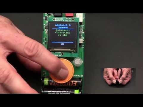 ELVjournal Montage - Komponententester/ESR-Meter mit OLED-Display KT200