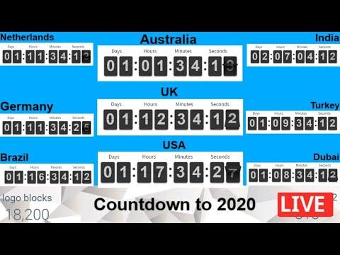 2021 Live🔴 Countdown & Happy New Year