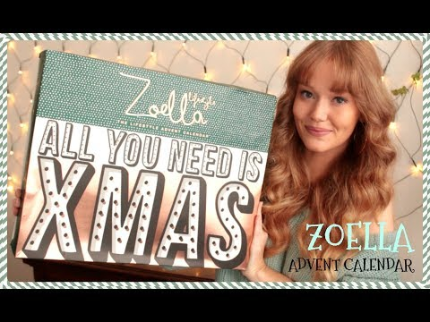 ZOELLA ADVENT CALENDAR UNBOXING 2017 - What's inside?