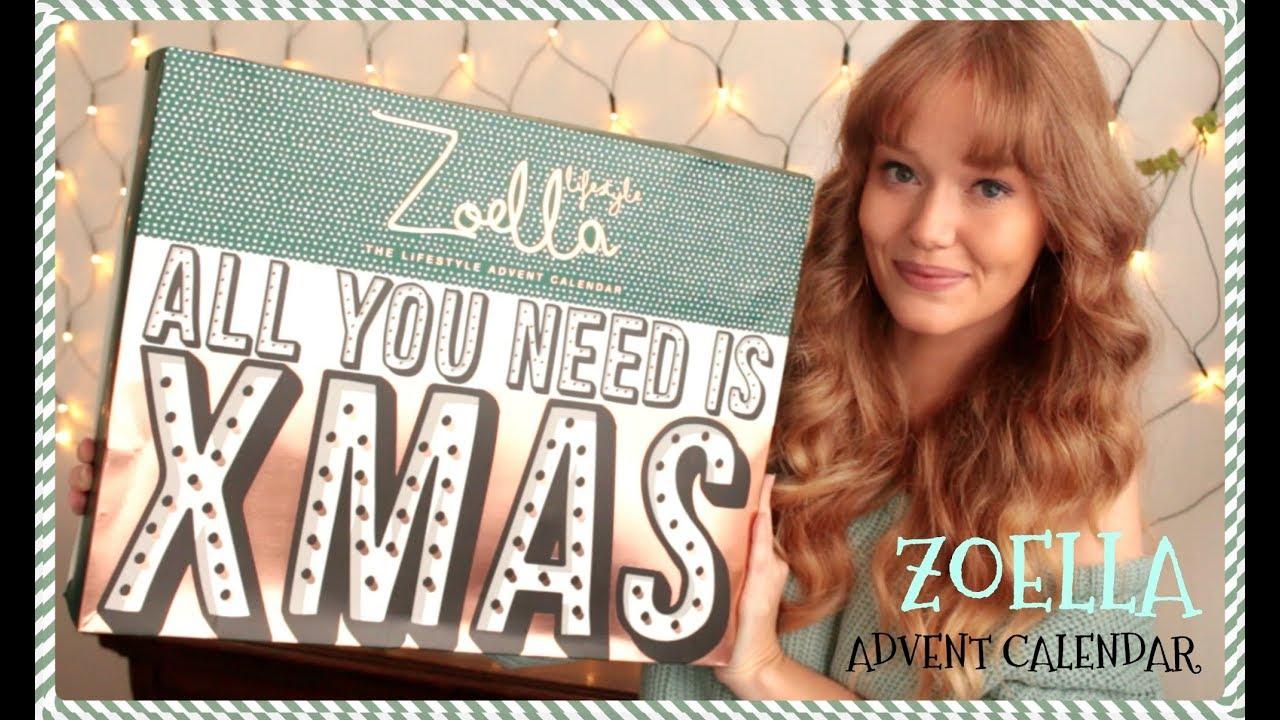 Zoella Calendar : Zoella advent calendar unboxing what s inside