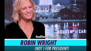 Exclusive : Robin Wright On Life After House Of Cards And Turning Director