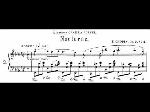 Chopin: Nocturne Op.9 No.2 in Eb Major (Moravec)
