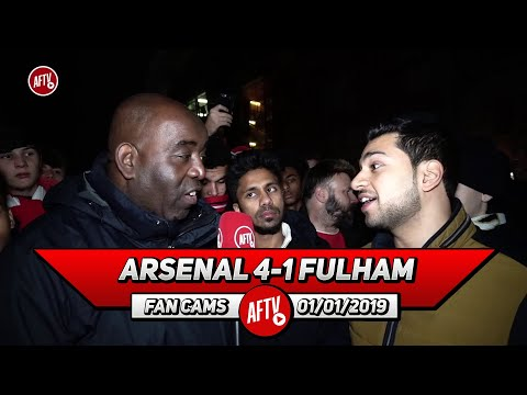 Arsenal 4-1 Fulham | Lets Sell Ozil Now & Buy A Top Centre Back! (Afzal)