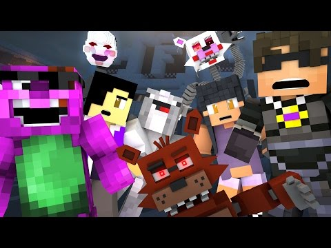 Thumbnail: Minecraft FIVE NIGHTS AT FREDDY'S 4 HIDE N SEEK 5! /w Facecam