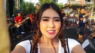 waww Lautan vyanisTy nyanyi Satu jiwa bareng Via Vallen di cokro tulung klaten juni 2016