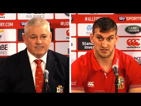 New Zealand vs Lions - Second Test - Warren Gatland & Sam Warburton Full Post Match Press Conference
