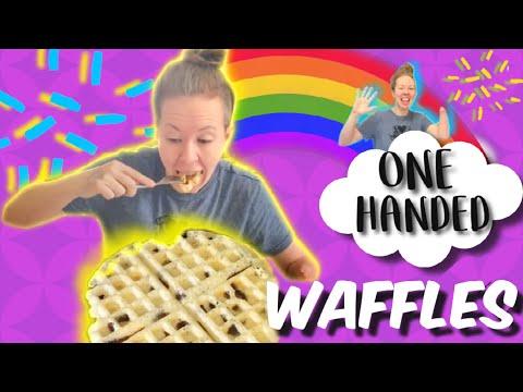 How to make vegan gluten free Waffles! Stump Kitchen 1