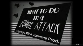 What To Do In A Zombie Attack 1080p (and 3d!)