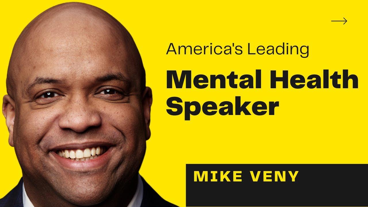 Mental Health Speaker - Mike Veny - Inspirational Keynote