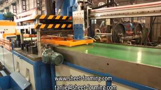60CM PEFORATED METAL CEILING TILE PRODUCTION LINE