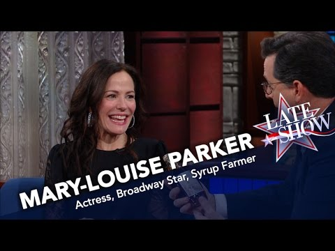 Mary-Louise Parker Has Become A Syrup Farmer
