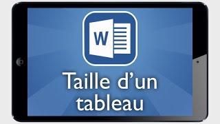 Tutoriel Word iPad - Modifier la taille d