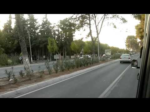 Driving from Cesme Alacati to Cesme City - July 2013 (HD)
