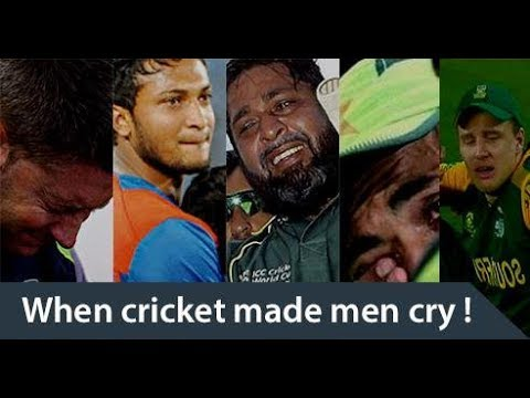 When Cricket made Men Cry-Emotional Moments Of World Cricket