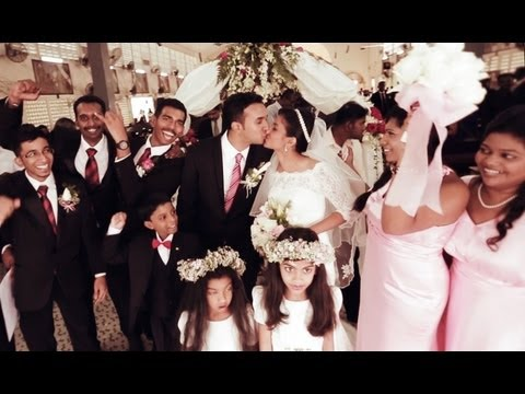 Church Wedding Trailer Malaysia - Derrick & Melisa