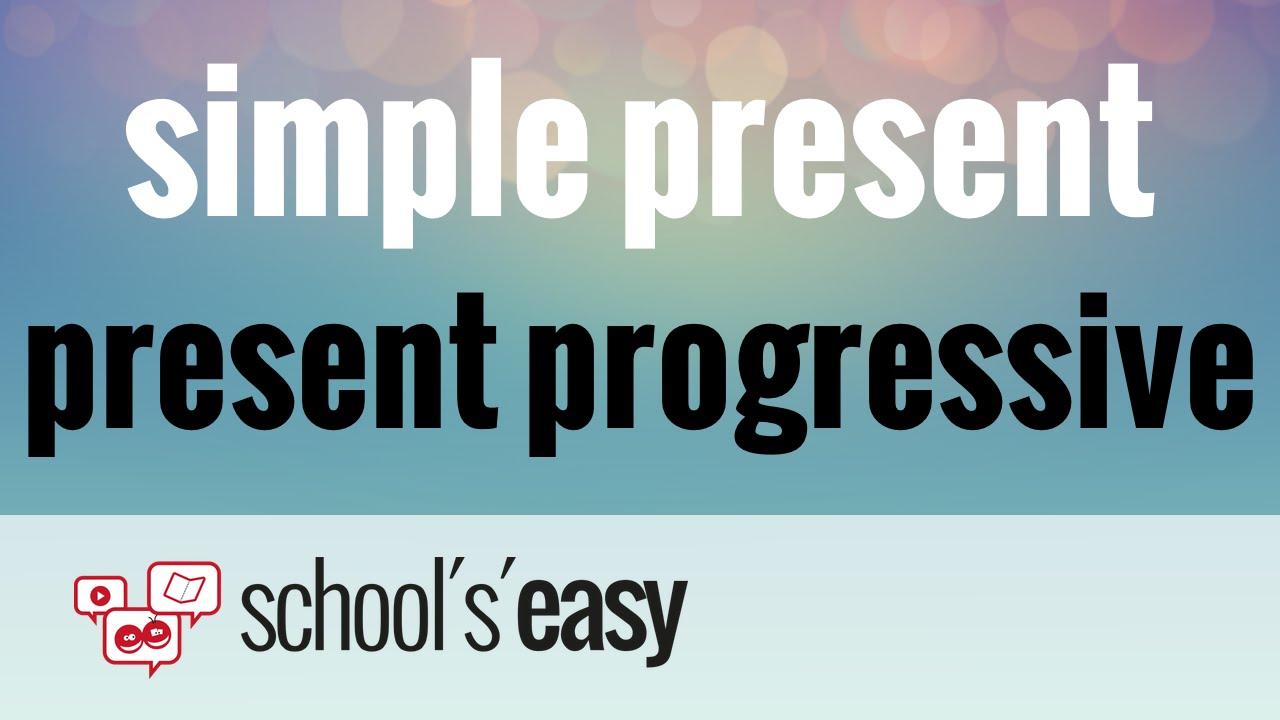 Englische Zeiten: simple present und present progressive ...